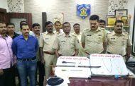 पिंपरी पोलीसांकडून सोनसाखळी व वाहन चोरी करणा-या सराईत गुन्हेगारांना अटक; ५ लाखांचा मुद्देमाल जप्त
