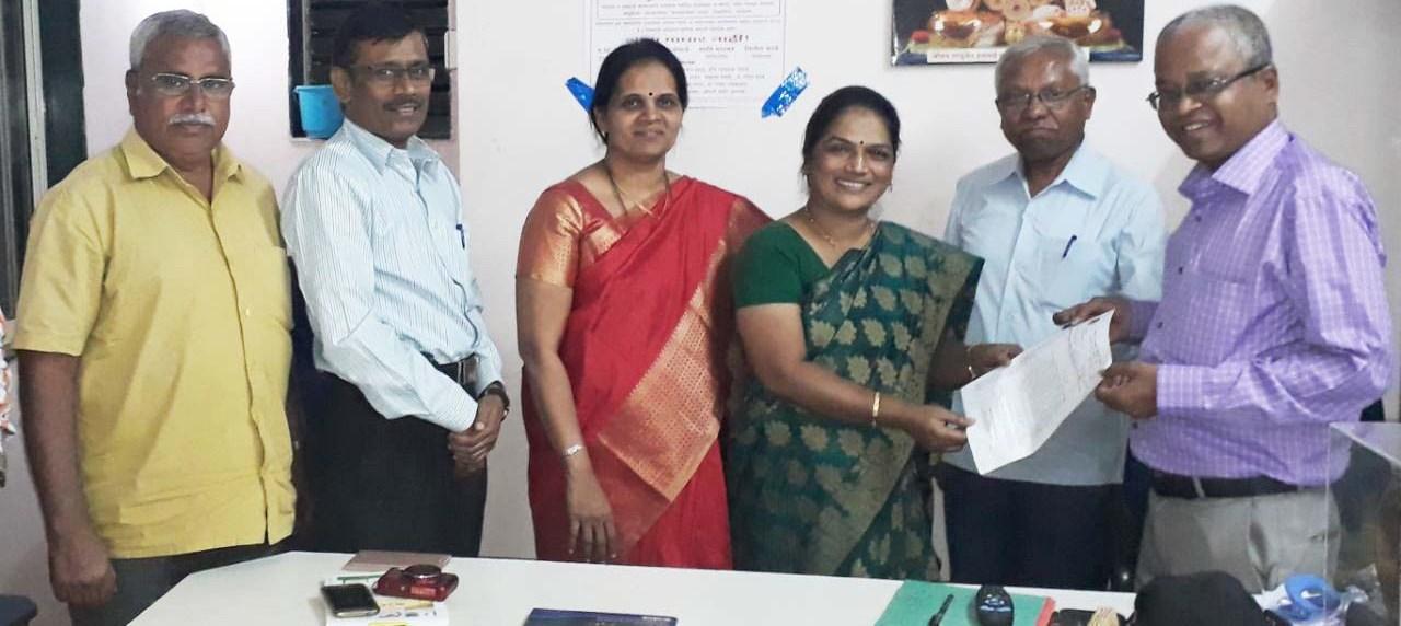 महाराष्ट्र राजपत्रित अधिकारी महासंघांतर्गत दुर्गा महिला मंचच्या पुणे जिल्हाध्यक्षपदी सुवर्णा पवार