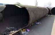 'पवना बंद जलवाहिनी'च्या लोखंडी पाईपची चोरी