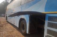 शिवनेरी बसच्या उघड्या डिक्कीच्या धडकेत २ जणांचा मृत्यू