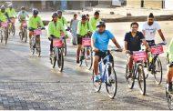 'सायकल चालवा' हा संदेश देण्यासाठी रविवारी हजारो सायकलस्वार औद्योगिकनगरीत जनजागृती करणार