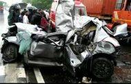 पुणे-मुंबई महामार्गावर भीषण अपघात; ७ जण ठार