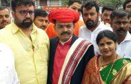 महापौर निवडणूकीत भाजपाचे राहुल जाधव ४७ मतांनी विजयी