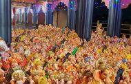 नाना काटे सोशल फाऊंडेशनच्या मूर्तीदान उपक्रमाला उस्फूर्त प्रतिसाद; १२ हजार ३०० मूर्तींचे केले संकलन