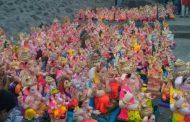 पिंपरी चिंचवड शहरातील ५ घाटांवर ४३ हजार मूर्तीदान