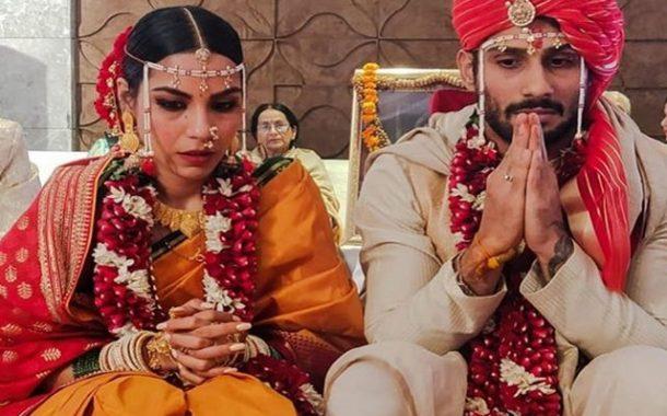 मराठमोळ्या पद्धतीने प्रतीक-सान्या अडकले विवाहबंधनात!