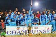 डॉक्टरांच्या क्रिकेट स्पर्धेत भोसरी संघास विजेतेपद