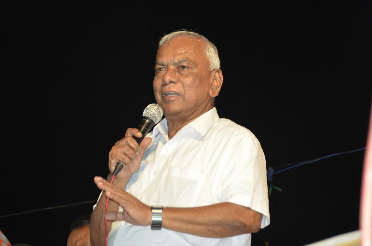 मजबूत भारतासाठी महायुतीला विजयी करा - रामशेठ ठाकूर