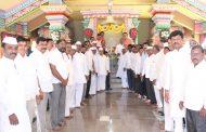 पिंपळे सौदागर येथील श्री मुंजोबा महाराज मंदिरात पानफुल अर्पण करून उत्सवास प्रारंभ