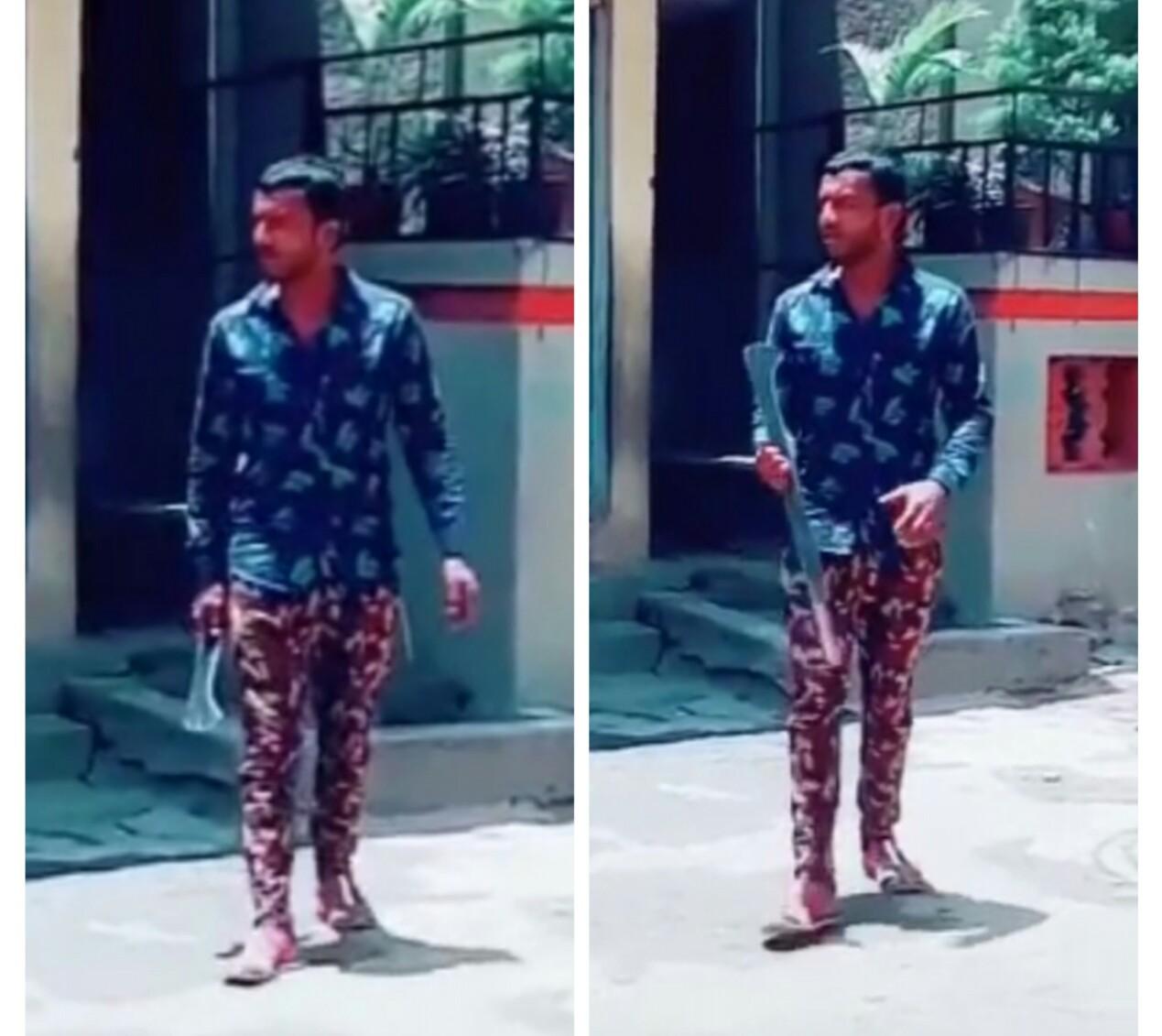 टिक-टॉक वर 'वाढीव' व्हिडिओ करणे तरूणाच्या अंगलट; वाकड पोलिसांनी दिला 'वाढीव प्रसाद'