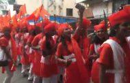 शोभायात्रेत तलवारींचा नाच अन् एअरगनमधून फायर; विश्व हिंदू परिषदेच्या २५० कार्यकर्त्यांविरोधात निगडी पोलीसांत गुन्हा दाखल