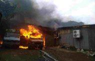 पुण्यातील येवलेवाडी भागातल्या गोडाऊनला भीषण आग
