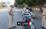 संचारबंदीचे उल्लंघन करणाऱ्यांना 'दंडुक्यांचा प्रसाद', पिंपरी चिंचवडमध्ये पोलिसांकडून कारवाई सुरू..!
