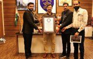 पिंपरी चिंचवडचे पोलीस आयुक्त कृष्ण प्रकाश यांची 'वर्ल्ड बुक ऑफ रेकॉर्ड'मध्ये नोंद