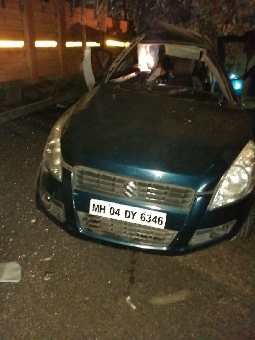 पुणे-मुंबई एक्सप्रेसवेवर टेम्पो आणि कारच्या भीषण अपघातात ५ जण ठार