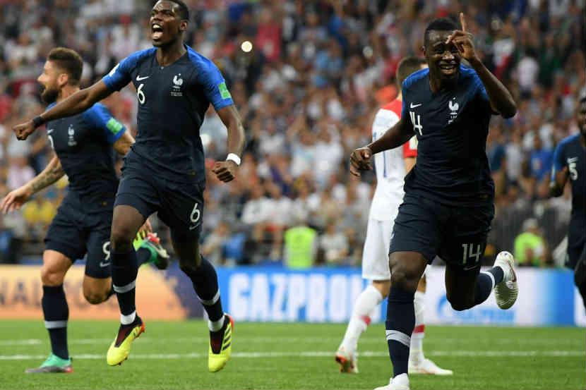 क्रोएशियाचा ४-२ ने पराभव करत फ्रान्सचा विश्वचषकावर कब्जा