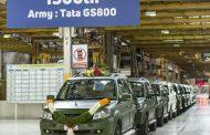 टाटा मोटर्सच्या १५०० व्या जीएस ८०० सफारी स्टॉर्मचा भारतीय सेनेत प्रवेश