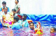 कृत्रिम तलावात गणेश मूर्तींच्या विसर्जनला सनातनचा विरोध