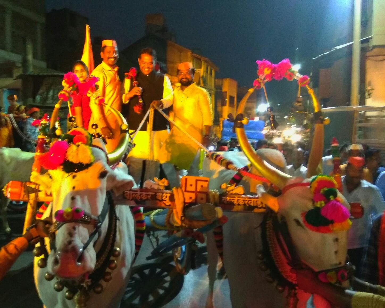 शिवजयंती निमित्त श्रीरंग बारणेंनी दिल्या पिंपरी चिंचवड शहरातील मंडळांना भेटी