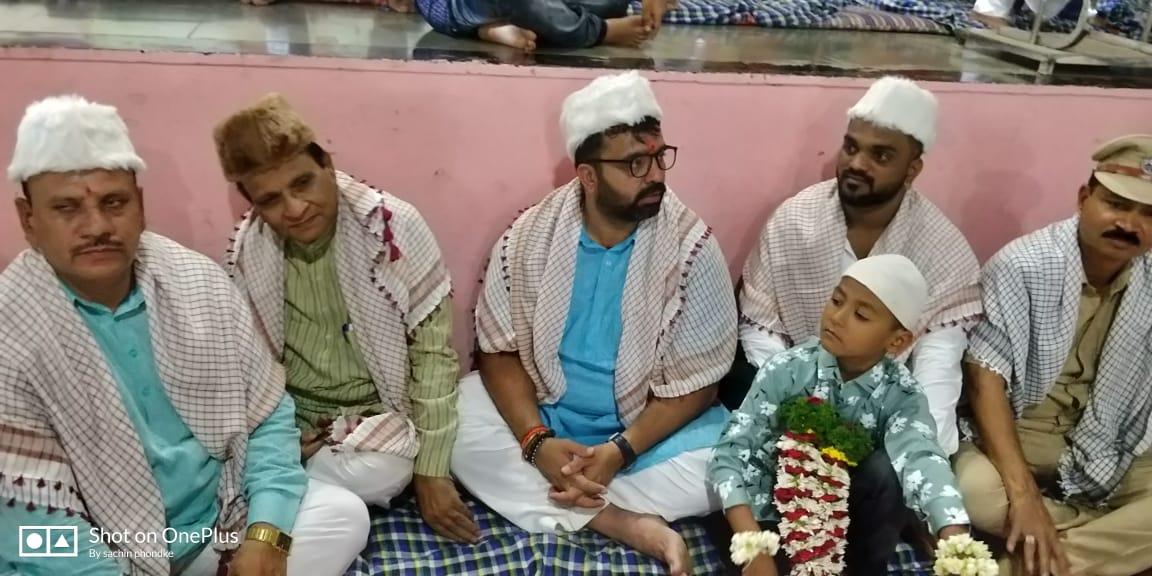 भोसरीत इफ्तार पार्टी उत्साहात; हजारो मुस्लिम बांधवांची उपस्थिती