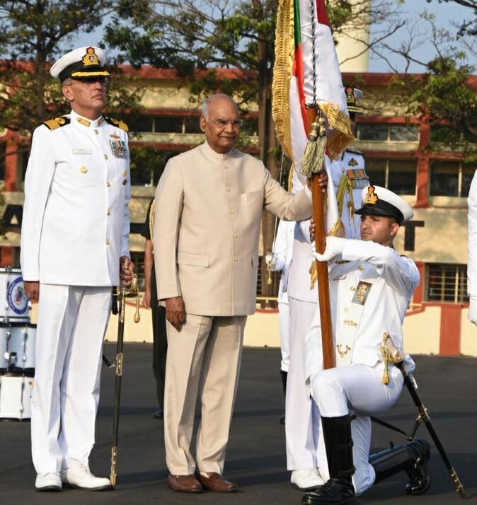 राष्ट्रनिर्मितीच्या प्रक्रियेत भारतीय नौदलाची भूमिका महत्त्वपूर्ण - राष्ट्रपती