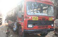 पुणे-मुंबईएक्स्प्रेसवेवर एसटी बसला अपघात; १ ठार, १५ जखमी